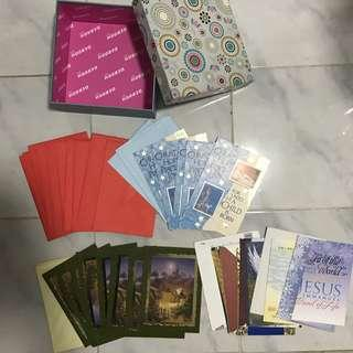 Derrah box with assorted greeting cards