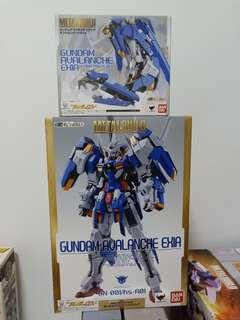 Gundam metal build avalanche exia and option parts