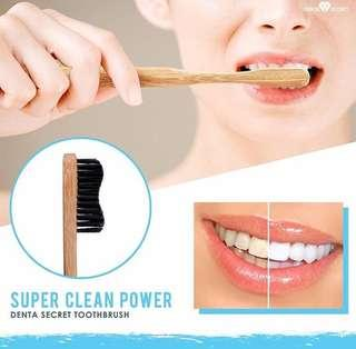DENTA SECRET No 1 best seller charcoal teeth whitening powder