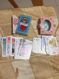 日本漫畫啤牌 playing cards