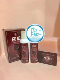 PAKET KOJIC BODY CARE 3 in 1