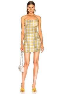 F21 checkered dress