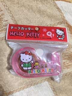 (New) hello Kitty 絕版1994膠紙座 tape