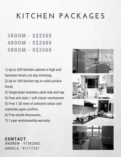 Renovation   Kitchen Packages