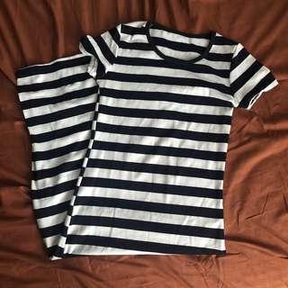 Stripe body con dress