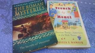 Bundle The Roman mysteries&French by heart