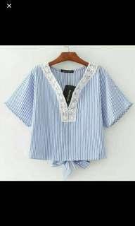 blouse strips