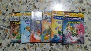 Geronimo Stilton story books