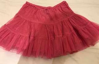 Old Navy girl's fushia tulle skirt