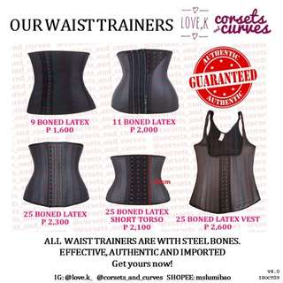d03a996657e AUTHENTIC WAIST TRAINERS