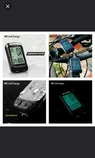 🚚 🆕🚴CoolChange Bike Computer Multifunction Waterproof  Bicycle Computer Speedometer Cycling Odometer with LCD Blue Backlight