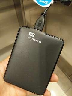 Western Digital External HD 1TB