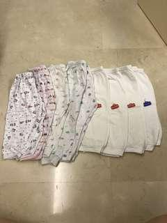 Baby Pants 12-18mths 9pcs