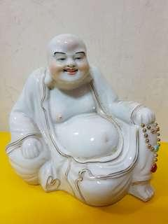 Vintage Laughing Buddha (14cm) With Box