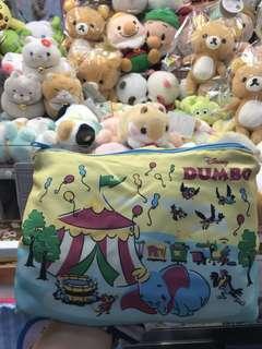 正牌日本景品迪士尼小飛象DUMBO拉鍊袋