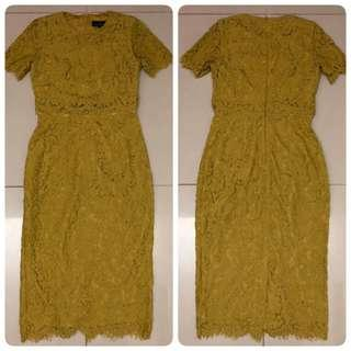 Doublewoot Daterkira Dress (Olive)