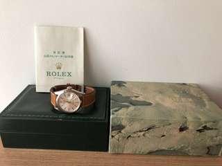 Fs Rolex vintage oyster date 1500 FULL SET