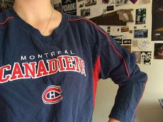 Vintage Canadiens shirt