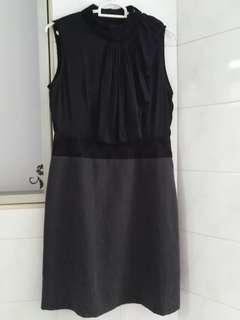 Black Grey Dress
