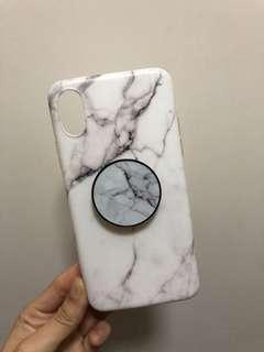 iPhone X marble case 雲石 大理石 電話殻 保護套