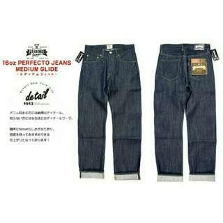Schott 16oz Perfecto Jeans Medium Glide