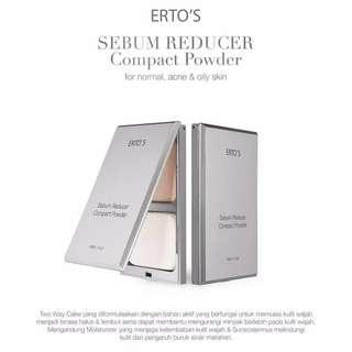 erto's sebum reducer compact powder