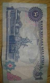Malasia Old currency