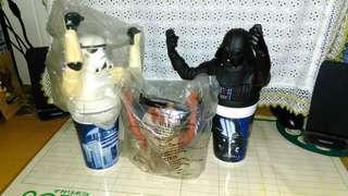 Vintage Star Wars Cup Topper.