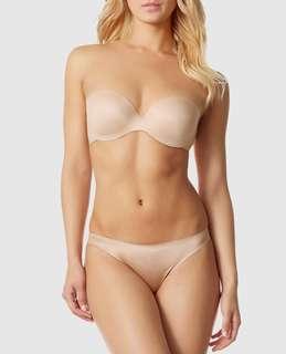La Senza Strapless Body Kiss Nude Bra 36B