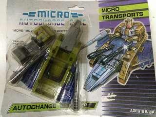 全新 micro autochange變型金鋼玩具