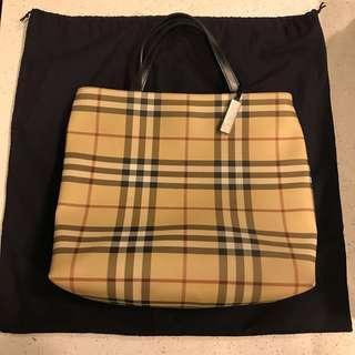 Burberry Tote Bag vintage
