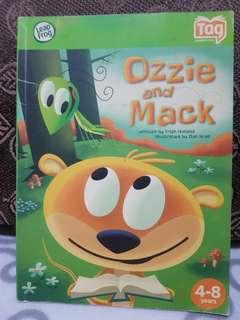 LeapFrog Tag Book Ozzie and Mack