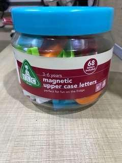 Preloved ELC Magnetic Upper Case Letters