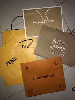 LUXURY BRAND PAPER BAGS