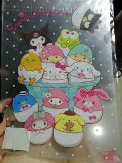 BN Sanrio character A4 file from Japan