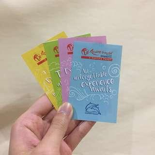 Adventure Cove tickets