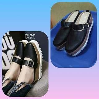 #MASIH READY Sepatu wedges / slop wedges / sandal  docmart NEW