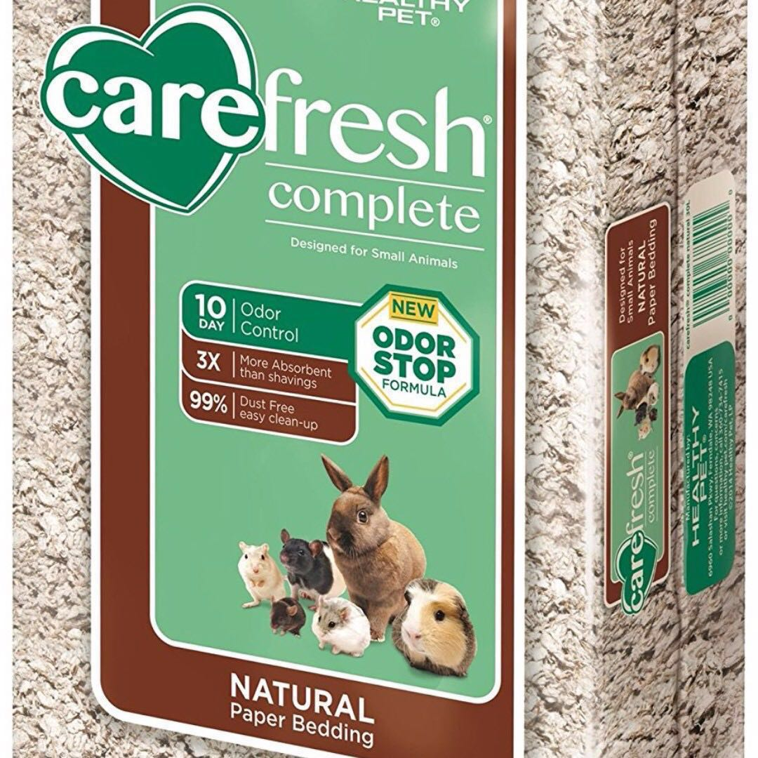NOV'18 60L Carefresh Complete Natural Pet Bedding for Hamsters, Gerbils and  other small animals