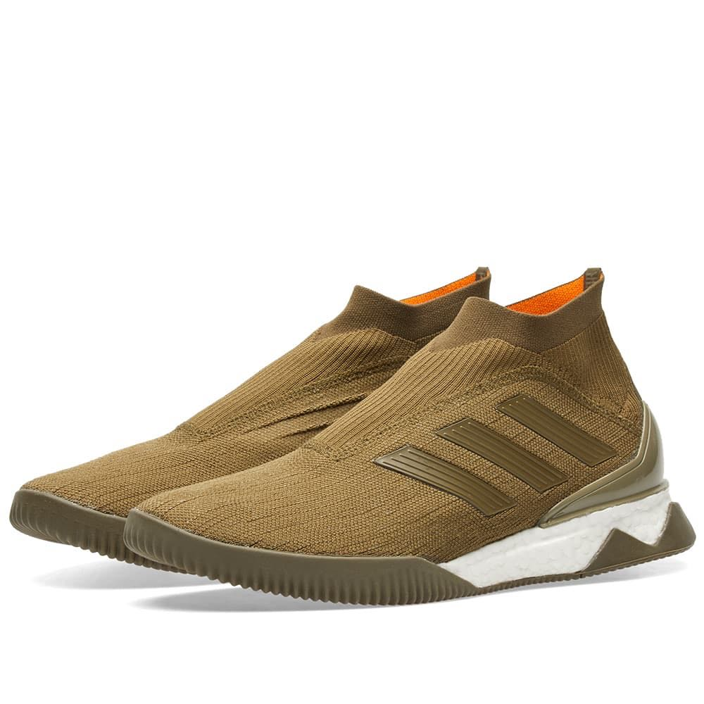 b35f61b22402 Adidas Consortium Nemeziz Predator Tango 18+ TR (Olive Green)
