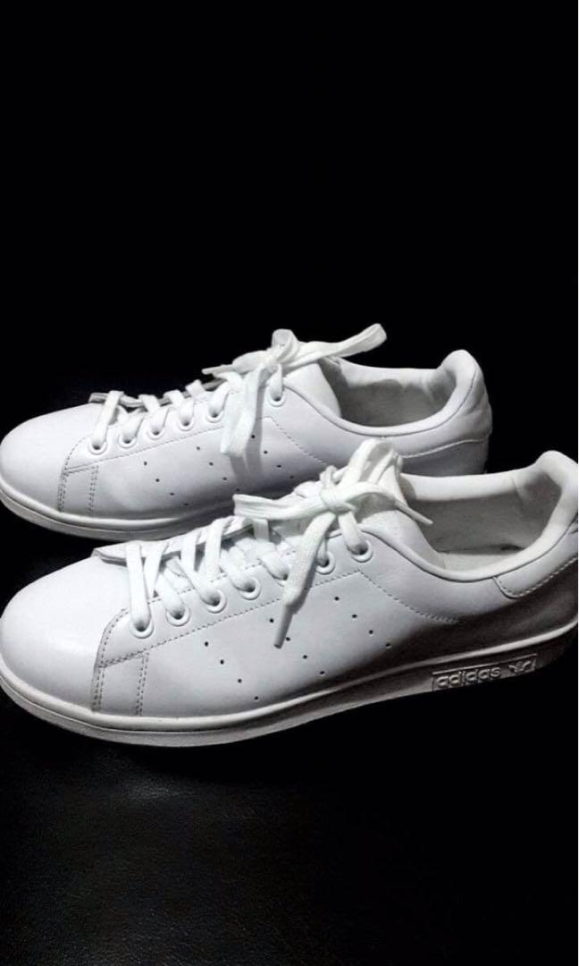 pretty nice 9a01d fafc8 ADIDAS STAN SMITH TRIPLE WHITE (MENS) on Carousell