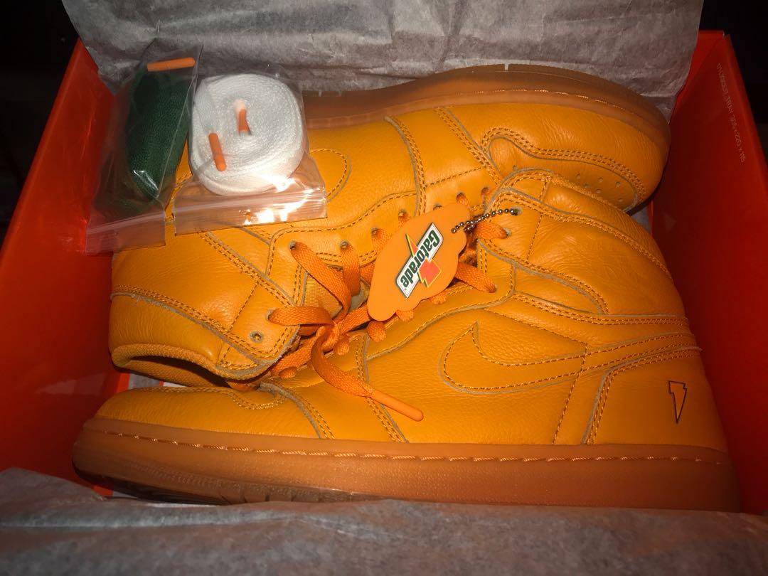 f726276b827 AIR JORDAN 1 GATORADE ORANGE PEEL, Men's Fashion, Men's Footwear on ...