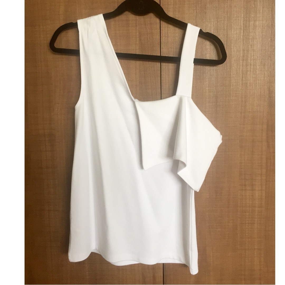 3b7d9ee99168fc NEW ASOS white top