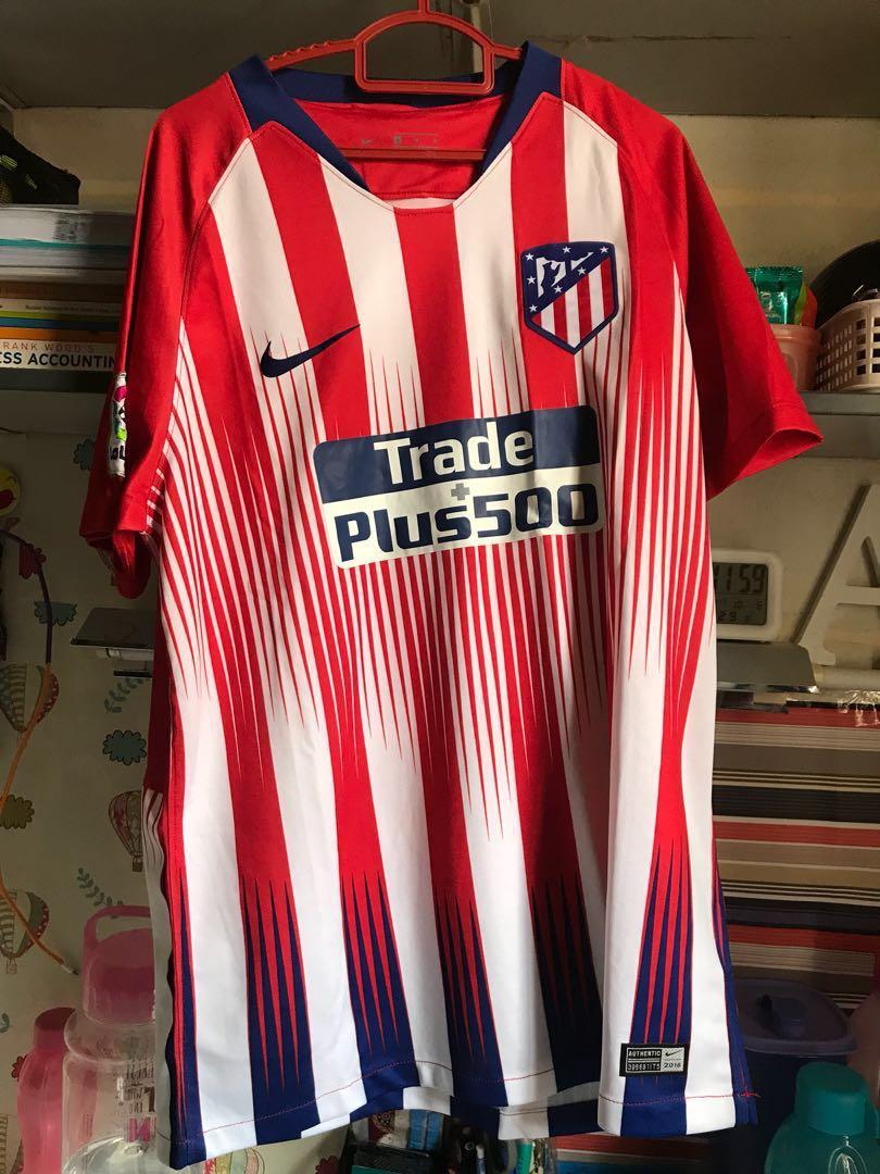 50e577383a9 Atletico de Madrid Home Jersey (Fans Issue)