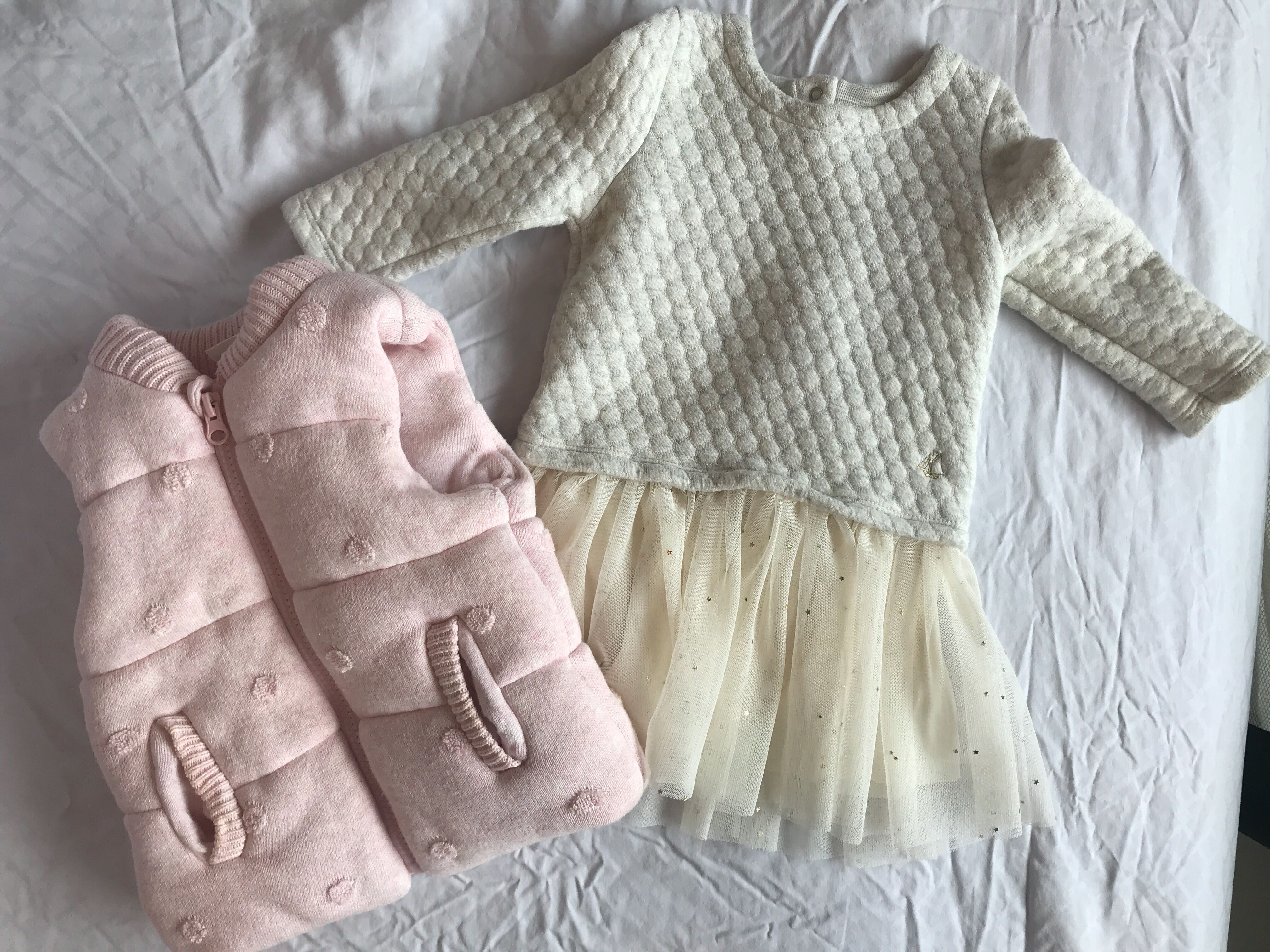 75f4c15c1182b Baby girl winter wear 6-12m, Babies & Kids, Babies Apparel on Carousell