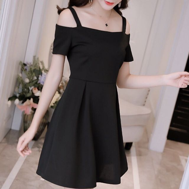 1ac0e4586690 Black Off Shoulder Dress elegant sexy mysterious wine gown mature ...