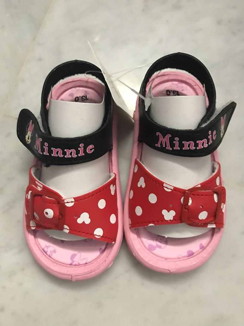 a86a7281c BNIB Minnie Mouse Girl s Sandals