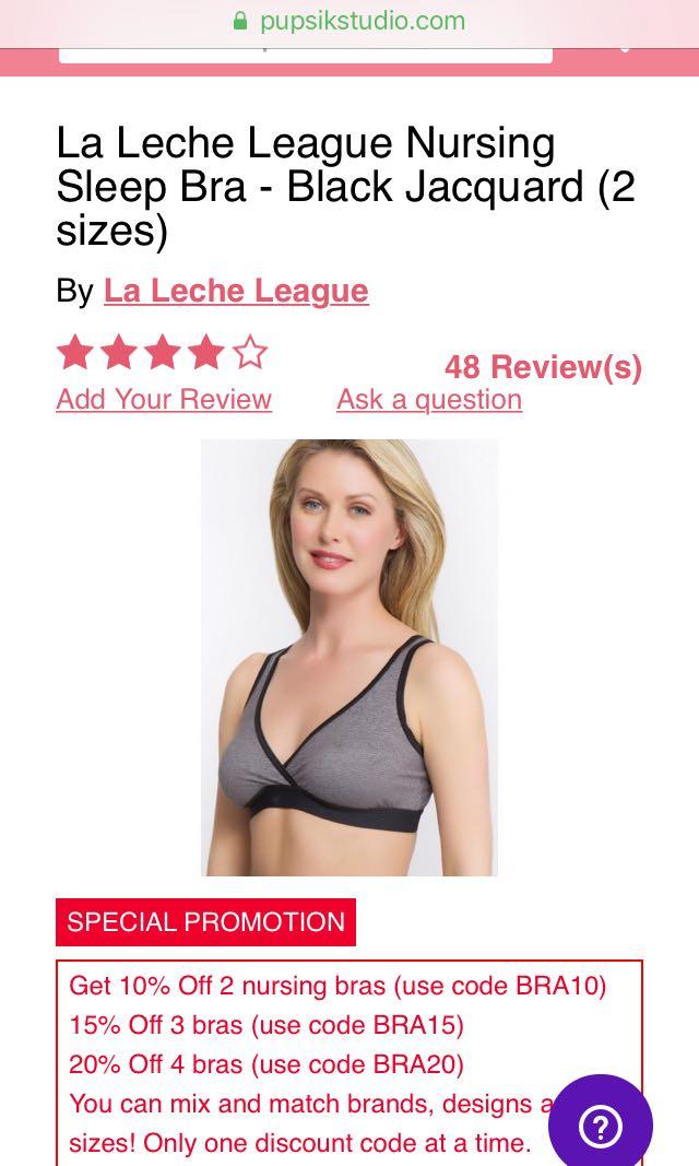 b376d99c6174c Brand new nursing bra La Leche League size L
