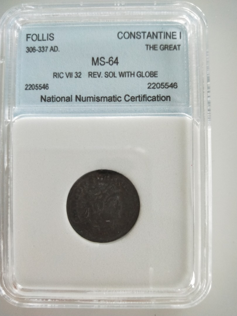 Certified Roman Coin Vintage Collectibles Currency On Carousell