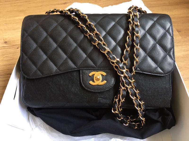 86702f95025c Chanel caviar classic GHW jumbo for sale!!! , Luxury, Bags & Wallets ...