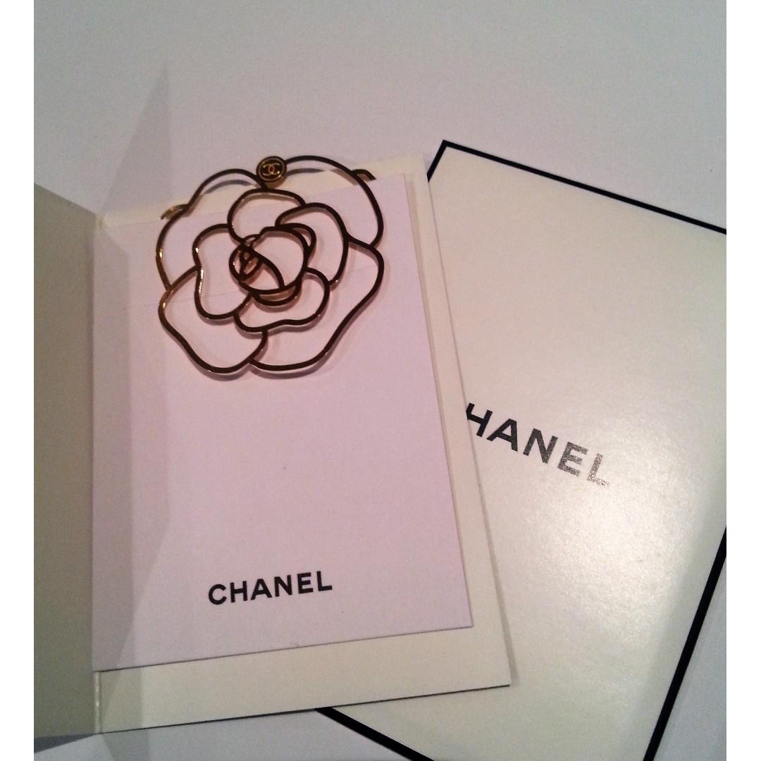 Chanel VIP Gift Bookmark